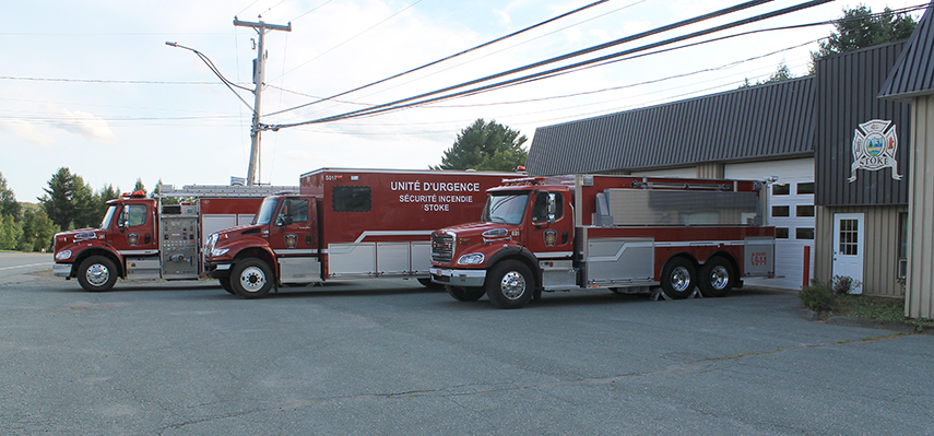 Camion d'unité d'urgence de Stoke